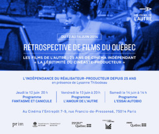 Rétrospective de films du québec 2014