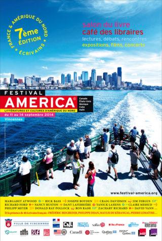 Affiche Festival America 2014