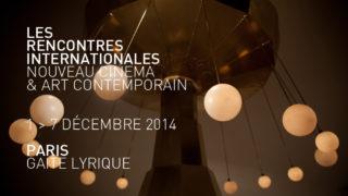 Rencontres internationales Gaite lyrique 2014