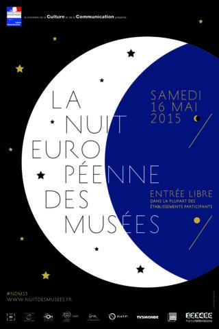 Affiche Nuit européenne des musées 2015