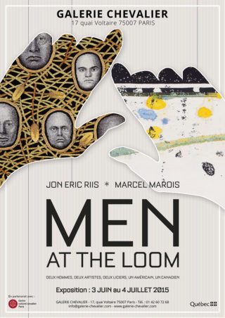Galerie Chevalier - Men at the Loom - Affiche