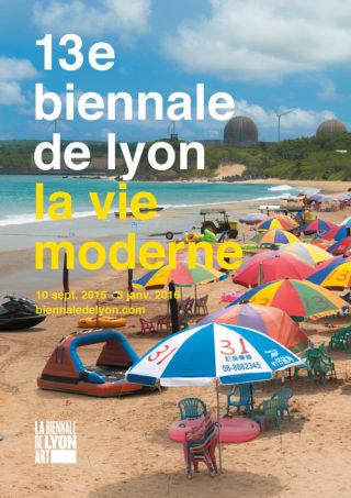 Affiche de la BAC - Biennale de Lyon 2015
