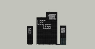 Aude Moreau, Less is more or..., 2014
