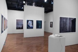 Vue de l'exposition Angela Grauerholz, Écrins écrans