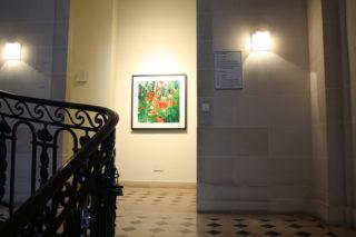 Vue de l'exposition Dianne Bos, The Sleeping Green - Photo © Vincent Royer, OpenUp Studio - Centre culturel canadien