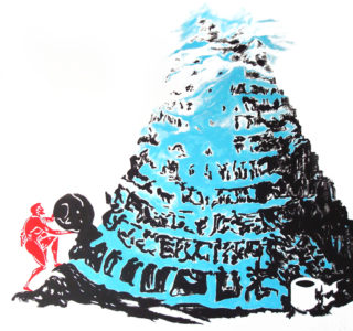 4.Sisyphe au pied de la Tour de Babel