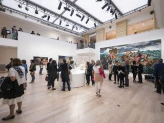 Photos du vernissage de l'exposition Kent Monkman