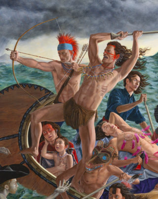 Kent Monkman, Miss Chief's Wet Dream, 2018, détail/detail, photo: Joseph Hartman