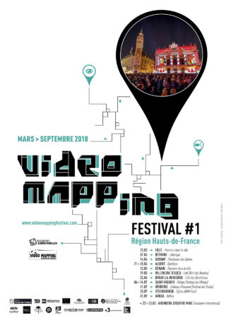 Affiche Video Mapping Festival 2018