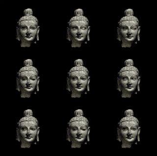 Dominique Blain, Bouddha de la collection du Musée de Kaboul, 2019