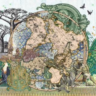 Figures 1816, Der Südliche Gestirnte Himmel vs Planiglob der Antipoden_jpg
