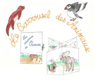 Atelier carrousel des animaux