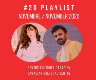PLAYLIST NOVEMBRE 2020 - FB