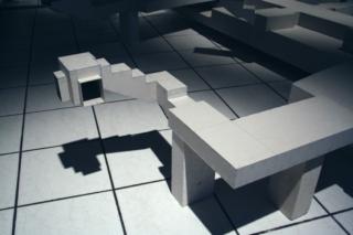 Larissa Fassler - Alexanderplatz, Berlin, 2006 - Courtesy de l'artiste et Galerie Poggi, Paris