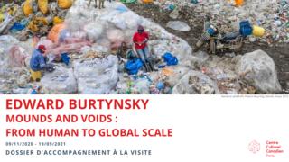 Edward Burtynsky - Dossier d'accompagnement à la visite