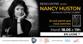 NANCY-HUSTON-LIVRE-BOOK-ALLIANCE-FRANCAISE-CANADA-CENTRE-CULTUREL-CANADIEN-AUTRICE-NOUVEAU-LIVRE-RECUEIL
