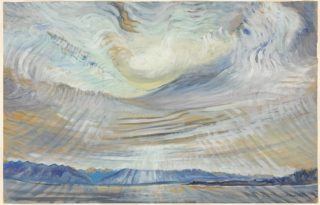 Emily Carr, Sky (ciel), 1935-6, National Gallery of Canada, Ottawa Purchased, 1937